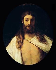 Christ resurrected, 1661. Canvas,oval,80 x 64,5 cm Inv.6471